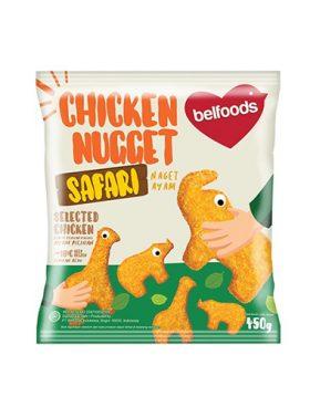 Belfoods Frozen Nugget Ayam Safari 450g