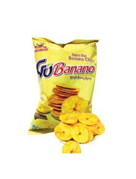 Go Banano Keripik Pisang Asin 80g