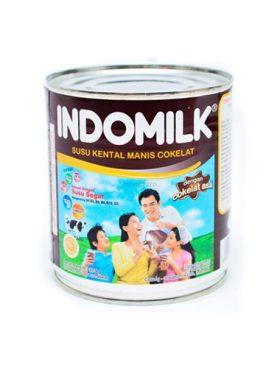 Indomilk Susu Kental Manis Coklat 390g