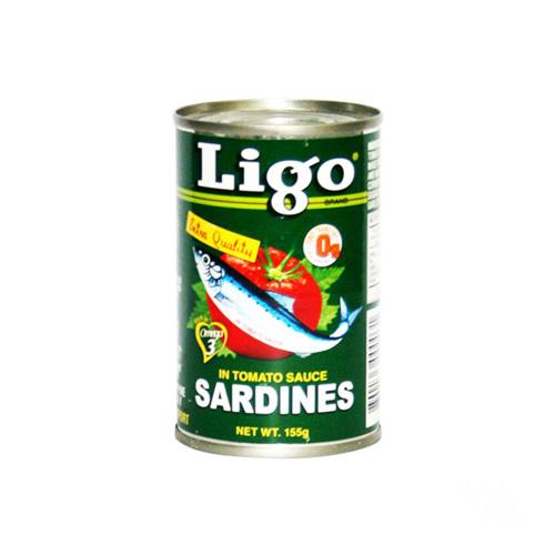 Ligo Sarden Saus Tomat 155g Hijau