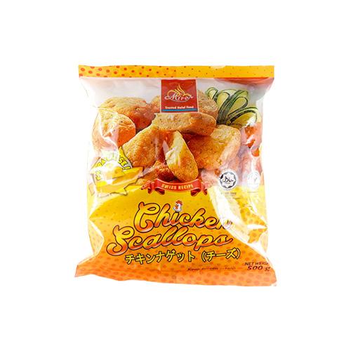Miraz Frozen Nugget Ayam Ekstra Keju 500g