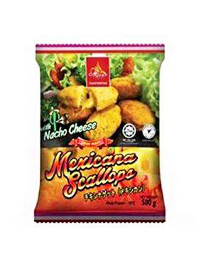 Miraz Frozen Nugget Ayam Nacho Keju 500g
