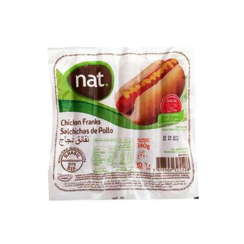 NAT Sosis Ayam 340 gr