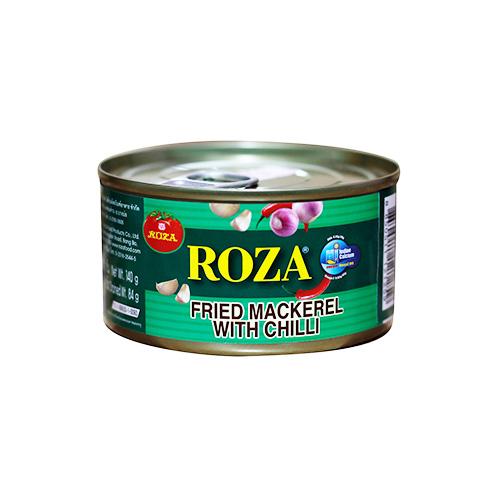 Roza Sarden Mackerel With Chilli 140g