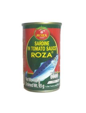 Roza Sardine In Tomato Sauce 155g