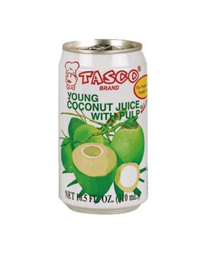 Tasco Young Coconut Juice with Pulp 310ml