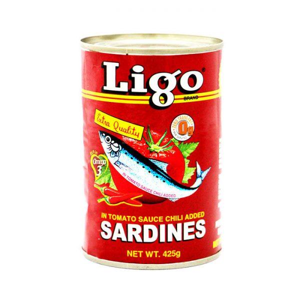 sardine ligo red 425g