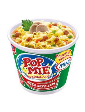 Pop Mie Cup Rasa Baso Sapi 60g