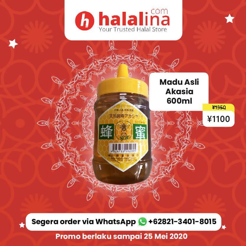 Promo Ramadhan Halalina - Madu Asli Akasia