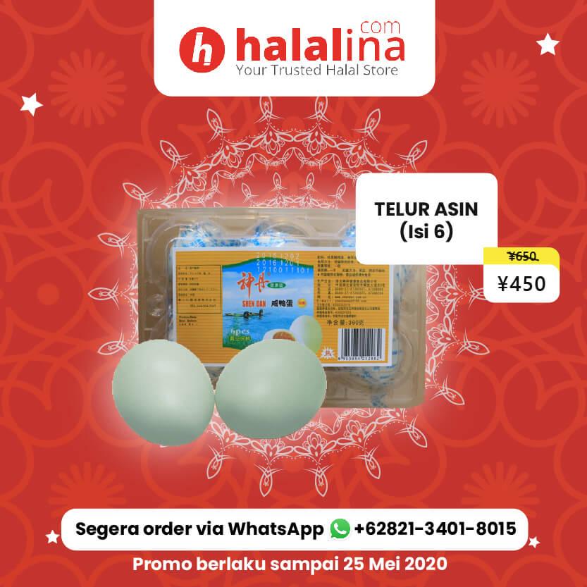 Promo Ramadhan Halalina - Telur Asin