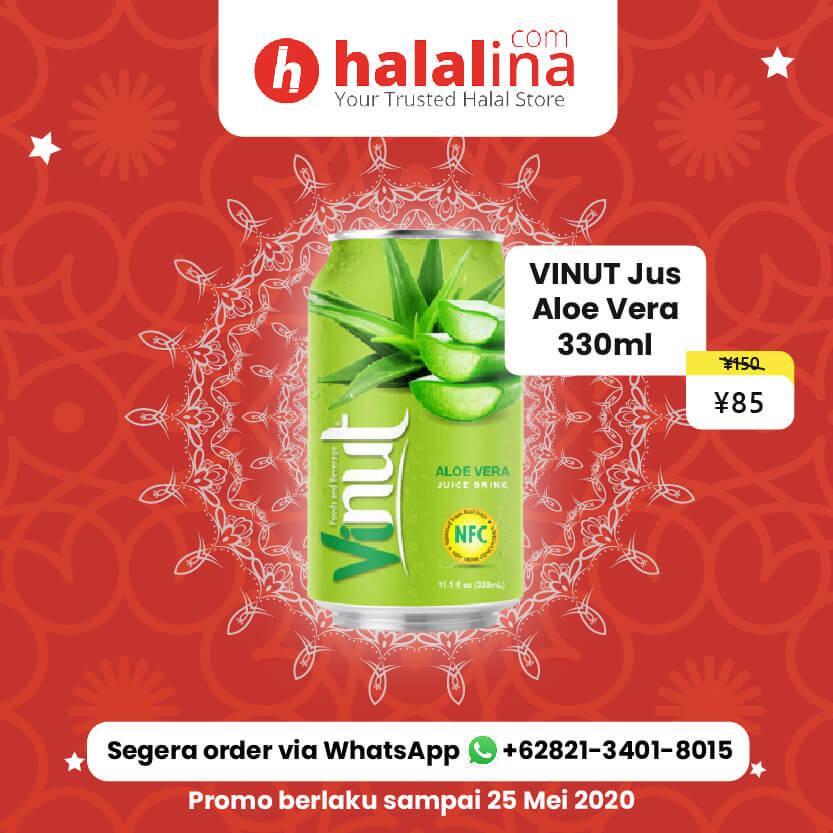 Promo Ramadhan Halalina - Vinut Jus Aloe Vera