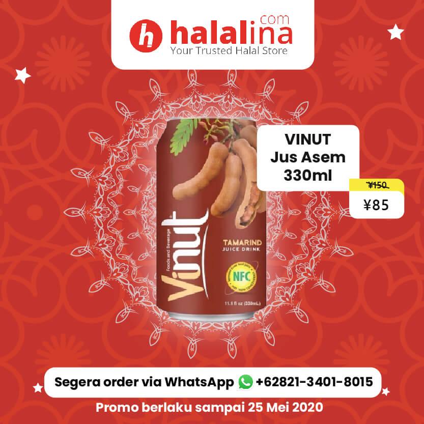 Promo Ramadhan Halalina - Vinut Jus Asem