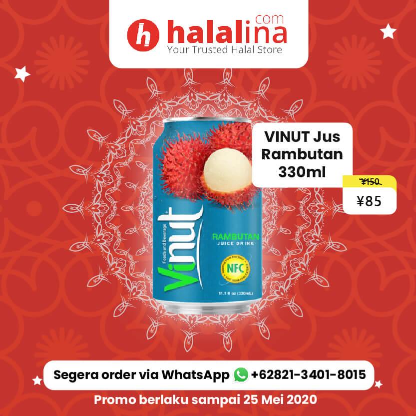 Promo Ramadhan Halalina - Vinut Jus Rambutan