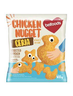 Belfoods Frozen Nugget Ayam Ceria 500g