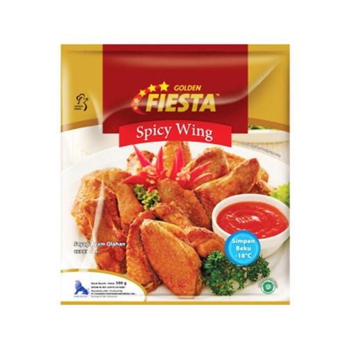 Golden Fiesta Spicy Wing 500g