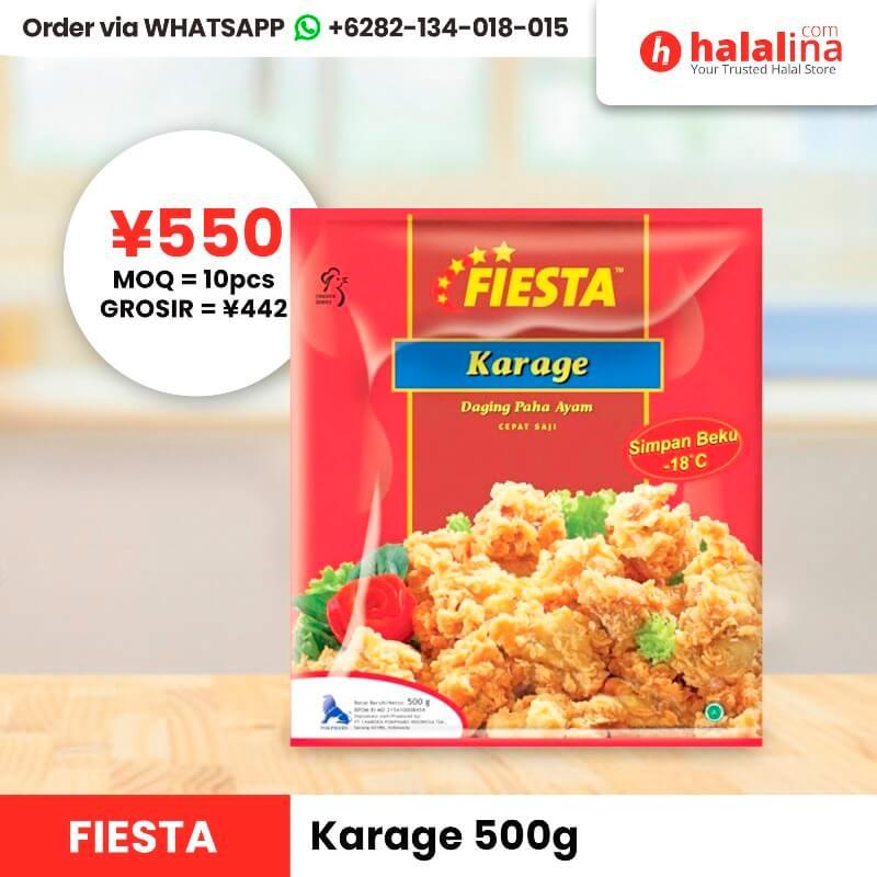 Halalina Grosir - Fiesta Karage 500g