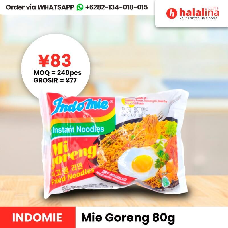 Halalina Grosir - Indomie Fried Noodles 80g