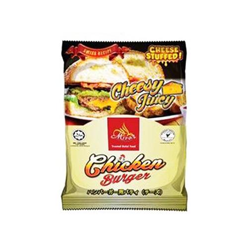 Miraz Frozen Burger Ayam Keju 450g