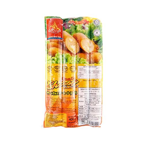 Miraz Frozen Sosis Ayam Keju 400g