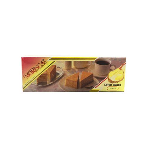 Morisca Kue Lapis Rasa Durian 365g