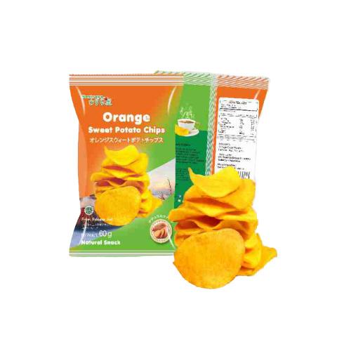 Sariraya Keripik Kentang Manis Orange 60g