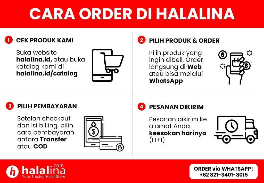 How to Order Halal Food in Halalina