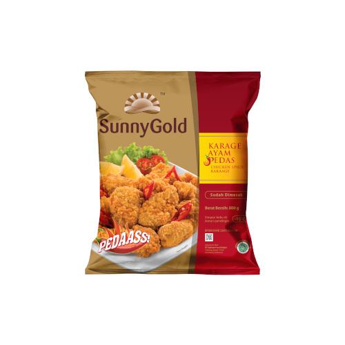 Sunny Gold Chicken Spicy Karage 500g