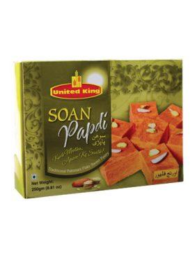United King Soan Papdi Orange 250g