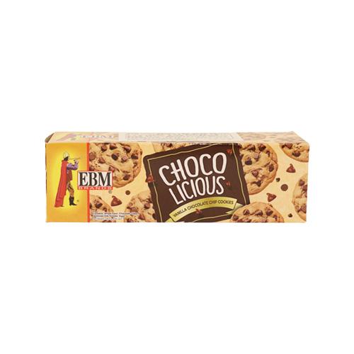 EBM Chocolicious Vanilla Chocolate Chip Cookies