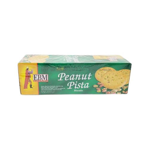 EBM Peanut Pista Biscuits