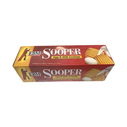 EBM Sooper Biscuit Egg & Milk Cookies